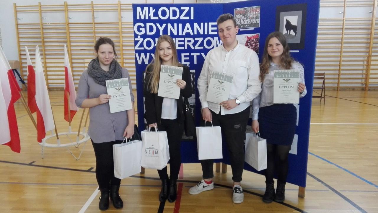 Finał projektu Młodzi Gdynianie Żołnierzom Wyklętym