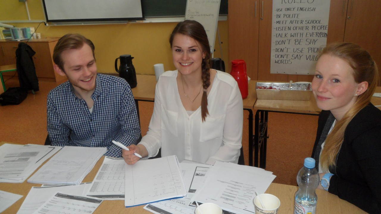 Wizyta niemieckich uczniów i nauczycieli