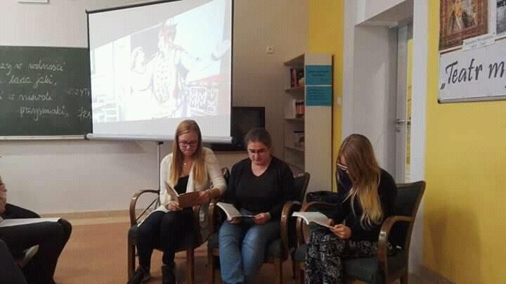 """Szkolne czytanie """"Wesela"""" Stanisława Wyspiańskiego"""