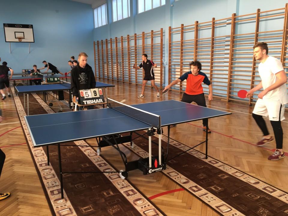 Mistrzostwa Gdyni w tenisie stołowym