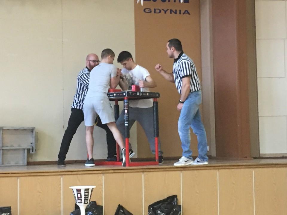 Mistrzostwa Gdyni w siłowaniu na rękę